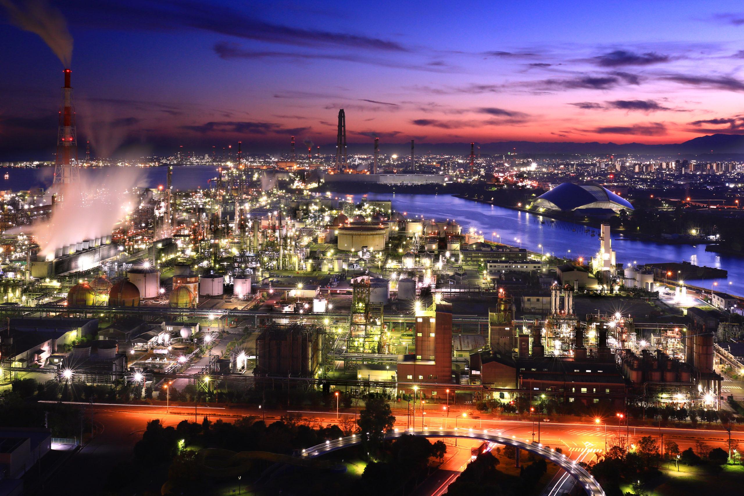 四日市港の夜景