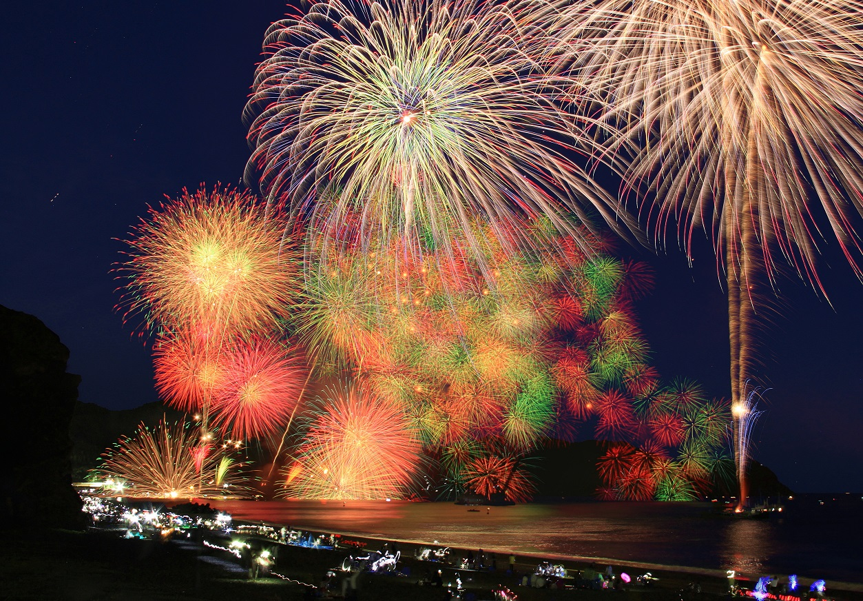 三百余年の伝統を誇る熊野大花火